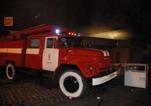 В Оболонском районе Киева горели три автомобиля