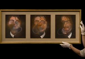 Три этюда для автопортрета Фрэнсиса Бэкона ушла с молотка за 21,5 миллиона долларов