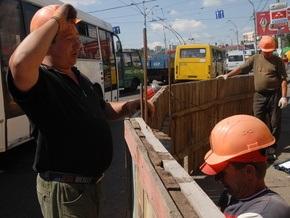В Киеве начали работы по расширению окружной дороги