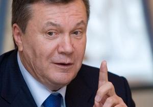 Янукович: Украина надеется на сотрудничество с компанией Chevron