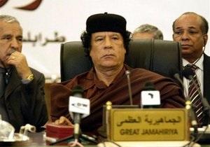 Власти Ливии опровергли информацию о смерти сына Каддафи