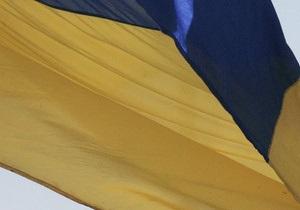 В Ивано-Франковске развернули сине-желтый флаг площадью 1350 кв м