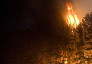 В Луганске пожар угрожал областной больнице
