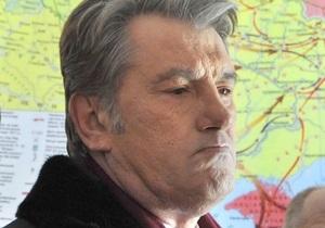 Ющенко: Пролонгация пребывания ЧФ РФ в Крыму - это политика колонизации