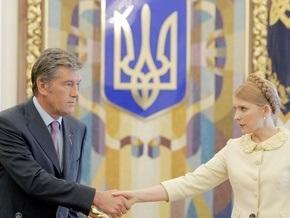 Литвин внес в Раду проект постановления о спецзаседании с участием Ющенко и Тимошенко