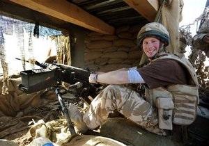 С целью безопасности принц Гарри будет воевать в Афганистане под чужим именем