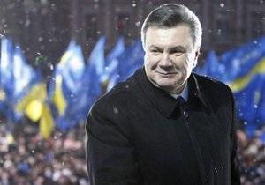 Янукович считает, что мир уже оценил первые шаги новой власти