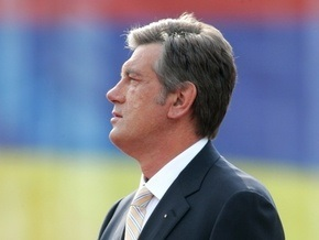 Ющенко призвал украинцев отметить праздники вместе с ним