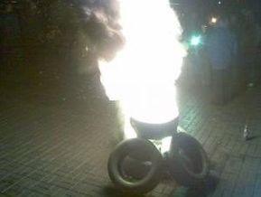 Задержаны 11 участников акции протеста в Киеве