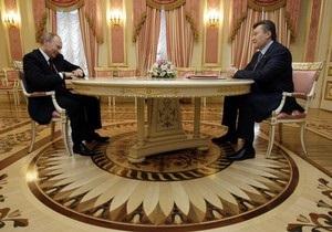 Путин отказался выходить к украинским журналистам