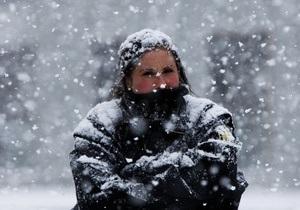 Гидрометеоцентр прогнозирует, что температура в Украине опустится до -33 градусов
