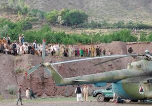 Талибы - вертолет - МИД проверяет информацию о захвате талибами в плен украинцев