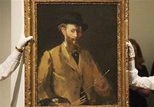 Автопортрет Мане установил рекорд на аукционе Sotheby s