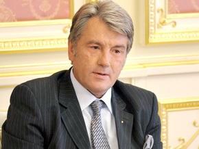 Ющенко отказался подписать закон о выборах президента