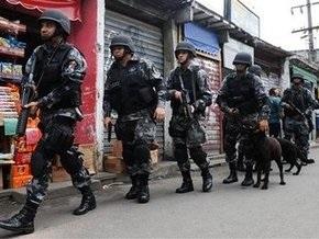 Президент Бразилии выделил около $60 млн на борьбу с преступностью в Рио-де-Жанейро
