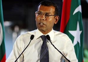 Экс-президент Мальдив передумал уходить в отставку