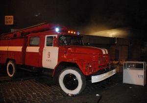 Во Львове загорелась маршрутка с пассажирами