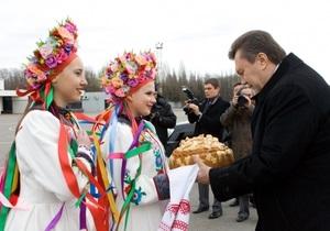 В Енакиево Януковичу преподнесут десятикилограммовую тыкву