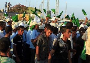 В Ливии на акцию протеста вышли две тысячи человек