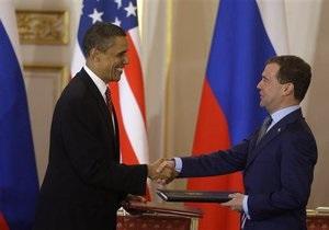 Обама и Медведев подписали Договор по СНВ