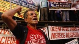 В Бразилии бастует полиция за неделю до карнавала