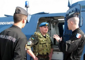 Украина намерена активнее участвовать в миротворческих и антипиратских операциях