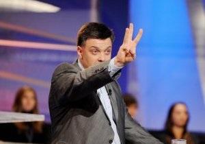 Тягнибок: Заявление Януковича о двуязычности - это холопская челобитная Кремлю