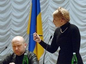 Сегодня Тимошенко и Турчинов выступят на трех каналах