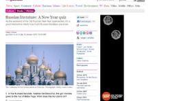 Guardian предложила читателям тест по русской литературе