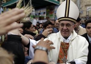 Новый пара римский - Хорхе Берголио выбрал себе имя Франциск