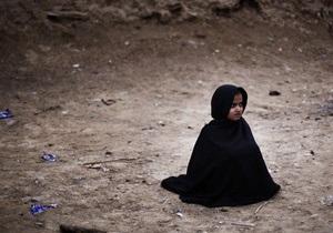 Талибы сделали из восьмилетней девочки террористку-смертницу