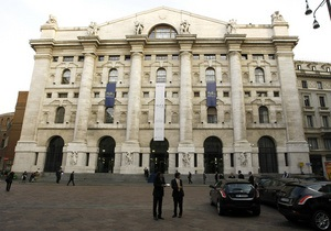 Италия одолжила девять миллиардов евро под низкий процент