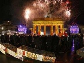 Официальные торжества в Берлине завершились салютом