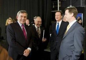 В Великобритании прошли первые в истории государства предвыборные теледебаты