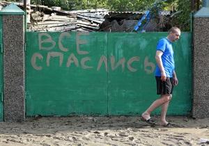 Наводнение на Кубани: глава Крымского района отстранен, мэр Крымска сохранил пост