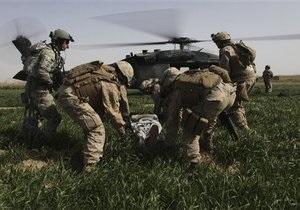 В Афганистане потерпел крушение вертолет НАТО: есть жертвы