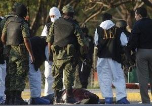 В Мексике арестованы 150 сотрудников полиции