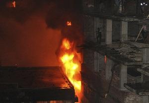 Жертвами пожара в столице Бангладеш стали 34 человека