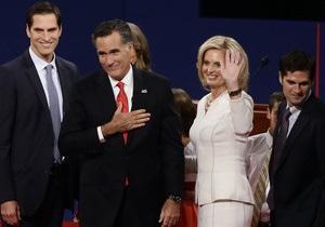 Ромни проголосовал в Массачусетсе