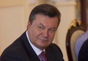 Янукович обеспокоен последними событиями вокруг украинских СМИ