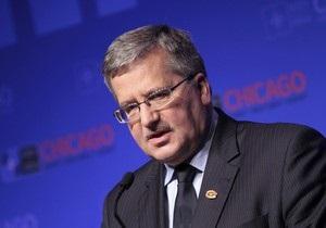 Президент Польши: Давайте не будем оставлять Украину, потому что уйдет на Восток