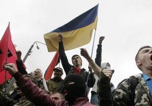 Националисты заявляют, что МВД незаконно препятствует проведению акций протеста против визита Кирилла