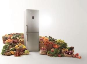 HOTPOINT представляет  инновационную технологию активного кислорода,   чтобы сохранить свежесть продуктов надолго!