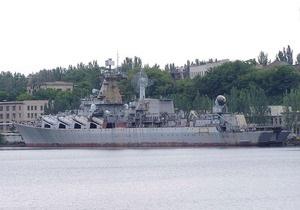 Россия достроит ракетный крейсер Украина