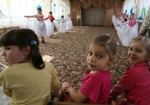 СМИ: В киевских детсадах нет денег на бесплатное питание