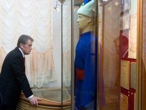Ющенко открыл в Батурине Гетманскую славу