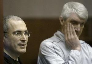 Верховный суд РФ отменил последнее продление ареста Ходорковскому и Лебедеву