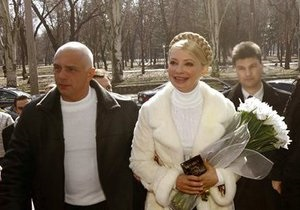 УП: Муж Тимошенко попал в реанимацию