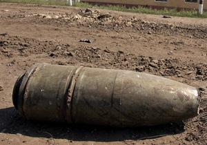 В Одесской области подросток принес домой пять артиллерийских снарядов