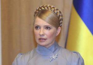 Тимошенко намерена сделать суды в Украине правосудными